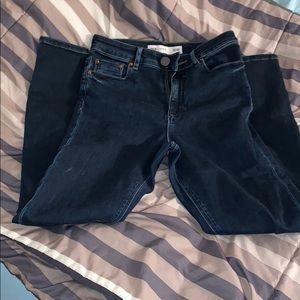 asos blue jeans